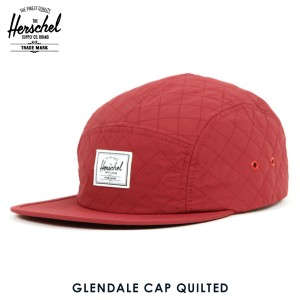 12feb719f34 ハーシェル Herschel Supply 帽子 キャップ GLENDALE CAP QUILTED 1007-0299-OS WINDSOR  WINE QUILTED