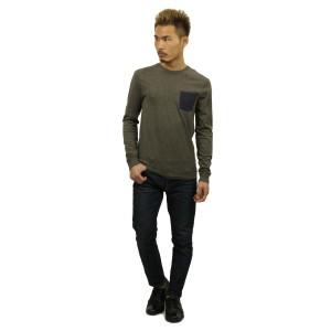 ジェイクルー J.CREW 正規品 メンズ 長袖Tシャツ SLIM LONG-SLEEVE CONTRAST-POCKET TEE