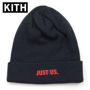 キス KITH 正規品 帽子 ニットキャップ KITH X NIKE JUST US BEANIE BLACK NKAH9953-010
