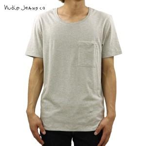 ヌーディージーンズ Nudie Jeans 正規販売店 メンズ 半袖ポケットTシャツ Pocket Tee Antracite 131309