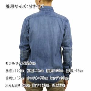 ヌーディージーンズ Nudie Jeans 正規販売店 メンズ 長袖シャツ HENRY SHIRT DENIM B26 140483
