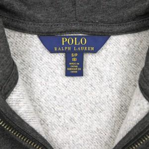 ポロ ラルフローレンキッズ POLO RALPH LAUREN CHILDREN 正規品 子供服 ボーイズ ジップアップパーカー Cotton-Blend-Fleece Hoodie