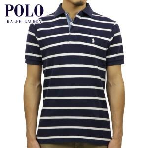 ポロ ラルフローレン POLO RALPH LAUREN 正規品 メンズ ポロシャツ Custom-Fit Stripe Rugby Polo