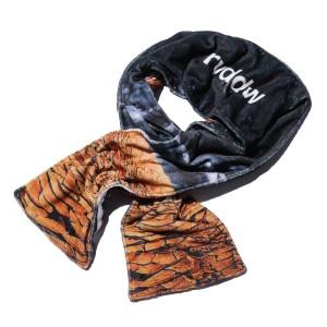 リバーサル REVERSAL 正規販売店 スカーフ DRY & NIGHT FLEECE MUFFLER rv17aw024 BLACK
