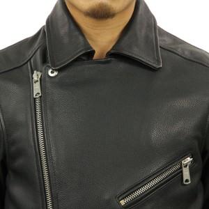 スコッチアンドソーダ SCOTCH&SODA 正規販売店 メンズ ジャケット CLASSIC AMS BLAUW BIKER HEAVIER LEATHER JACKET DC 137530 90 47800