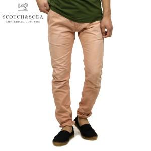 スコッチアンドソーダ SCOTCH&SODA メンズ コットンパンツ Theon - garment dyed canvas 85391 27