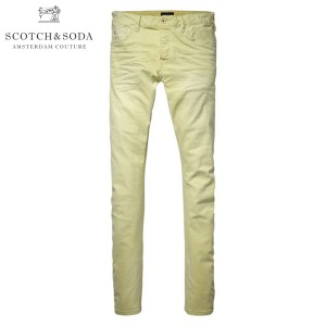 スコッチアンドソーダ SCOTCH&SODA メンズ ジーンズ Rock related garment dyed skinny 5-pocket. Pike 80006 34