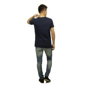スコッチアンドソーダ SCOTCH&SODA 正規販売店 メンズ 半袖Tシャツ Round neck tee with special roll up sleeves 130865 57