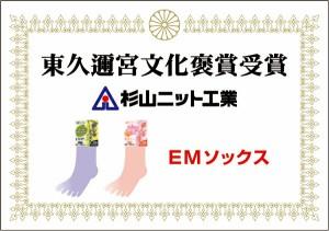 杉山ニット工業 EMソックス ヘンプ ブラック 箱入り メンズソックス 5本指 日本製 くつした くつ下 靴下 SS0471
