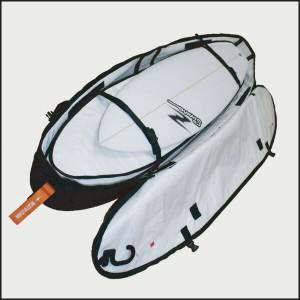 DESTINATION(デスティネーション) EXコフィン 3〜4本入れ AIR TRAVEL 12mmPAD 9'0 トラベル用ハードケース サーフィン