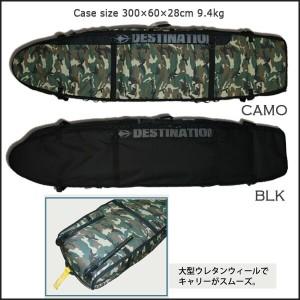 DESTINATION(デスティネーション) EXローラーコフィン 3〜4本入れ AIR TRAVEL 12mmPAD 9'6 トラベル用ハードケース サーフィン