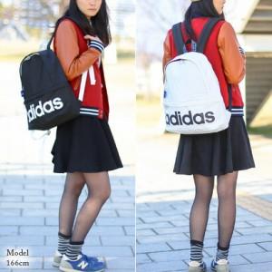 【ポイント10倍/送料無料】アディダス/adidas/リュック/デイパック/ブラック&ホワイト/メンズ/レディース/ギフト/A4/通学/人気/47164