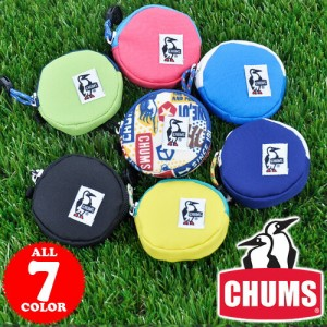 チャムス/CHUMS/コインケース/コーデュラエコメイド/Eco Round Coin Case/ch60-0854/「ネコポス便可能」 人気/かわいい/おしゃれ/ギフト