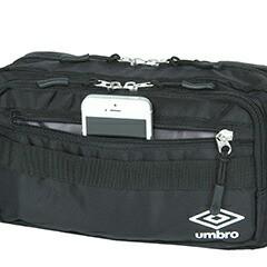 アンブロ/UMBRO/ウエストバッグ/ボディバッグ/basic/ベーシック/070090/メンズ/レディース B6/P10倍/人気/旅行/スポーツ/部活/ギフト
