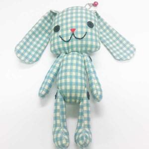 SALEDO13519/noah/ぬいぐるみマスコット(チェックBL)/玩具/TOY/おもちゃ