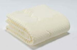 フランスベッドのウォッシャブル低反発ベッドパッド クイーン