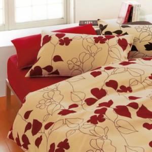 布団カバーセット ダブルサイズ | mee 西川リビングの寝具カバー4点セット ME-03 ベッド用ダブル (掛け布団カバー+ベッドシーツ+枕カ