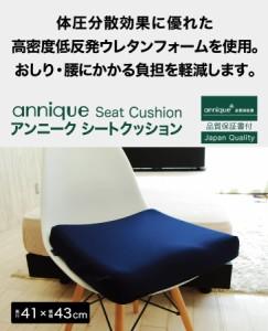 低反発クッション   アンニーク シートクッション【N】