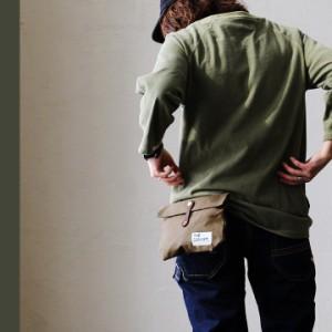 (ザ・キャンベット) THE CANVET ウエストバッグ パラフィン加工 8号キャンバス ヌメ革ベルト