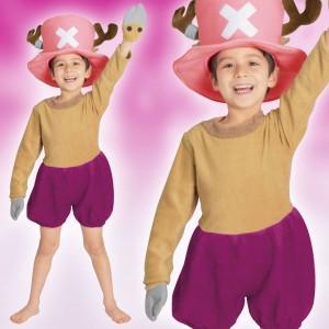 取寄品:3週間前後 ONE PIECE コスプレ 子供 男の子用 Sサイズ チョッパー ワンピース 仮装