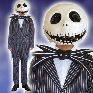 ディズニー コスチューム 大人 男性用 ジャック ナイトメア・ビフォア・クリスマス 仮装