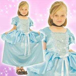 取寄品:3週間前後 ディズ3ー コスチューム 子供 女の子用 トドラーサイズ プリンセス シンデレラ 仮装