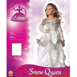 取寄品:3週間前後 コスプレ 子供 女の子用 Lサイズ 雪の女王 スノークイーン 仮装
