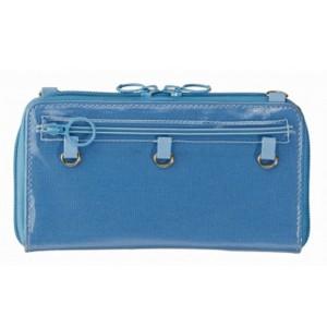痛maker カスタマイズマルチカバー (スマホケース/ポシェット) ブルー モバイル用品