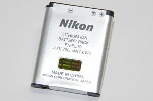 Nikon ニコン  EN-EL19   送料無料【ゆうパケット】