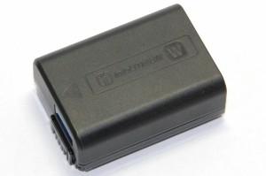 ソニー  NP-FW50 新デザイン版   リチャージャブルバッテリー QX1・α7 IIなど  送料無料・翌日配送【メール便】
