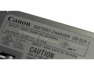 Canon キヤノン バッテリーチャージャー CB-2LD 純正 【NB-11L・NB-11LH対応充電器】 CB2LD
