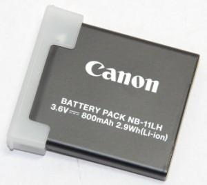 Canon キヤノン バッテリーパック NB-11LH 〔NB11LH〕 国内純正品 送料無料【メール便(ネコポス)】