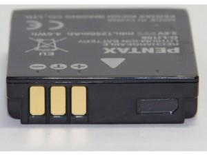 PENTAX ペンタックス D-LI106 充電式リチウムイオンバッテリー 純正海外表記版 送料無料【メール便(ネコポス)】
