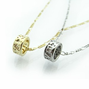ローマ数字リングペンダントネックレス☆ 胸元のワンポイントに!
