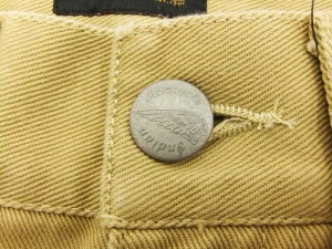 インディアンモトサイクル デニムパンツ IMBL-603 羽根刺繍 メンズ ジーンズ キャメル 新品