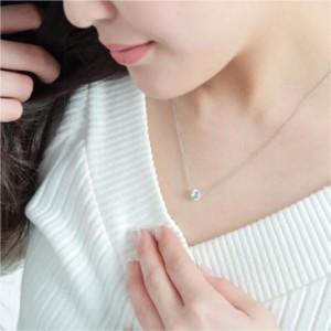 ネックレス レディース スワロフスキー ネックレス 一粒 スワロフスキー ジルコニア ネックレス 88面体 プレゼント ギフト 人気