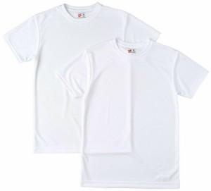 Hanes ヘインズ 部活魂クルーネックTシャツ 2枚組 HM1-G704