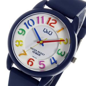 シチズン キューアンドキュー クオーツ ユニセックス 腕時計 時計 VR68-002 ホワイト