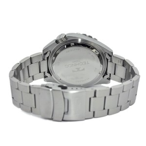 テクノス TECHNOS クオーツ メンズ 腕時計 時計 T4390SO オレンジ