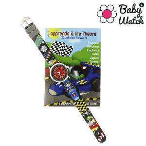 ベビーウォッチ babywatch コフレボヌール レース クオーツ 腕時計 時計 CB011 レッド