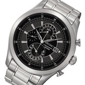 セイコー SEIKO クオーツ クロノ メンズ 腕時計 SPC167P1 ブラック【送料無料】