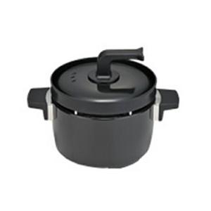リンナイ ラクシエ LAKUCIE 3合炊き炊飯釜 つつみ炊きKAMADO RTR-03E ブラック【送料無料】