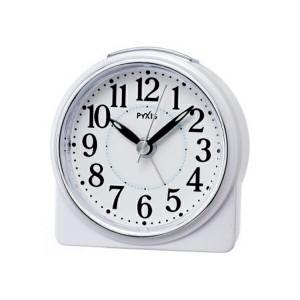 セイコー SEIKO クロック ピクシス 目覚まし時計 NR439W ホワイト