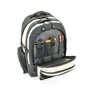 モビーズ 10ポケットDパック リュック バックパック メンズ 4253105 ブラック
