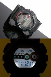 カシオ CASIO Gショック G-SHOCK 高輝度LED 腕時計 GD-100-1A【送料無料】