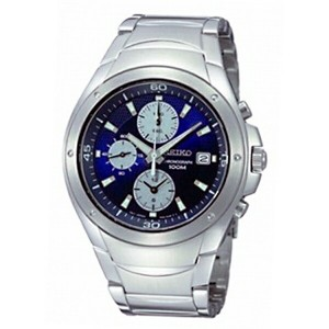 セイコー SEIKO クロノ クオーツ メンズ 腕時計 SND777P1 ネイビー【送料無料】【楽ギフ_包装】