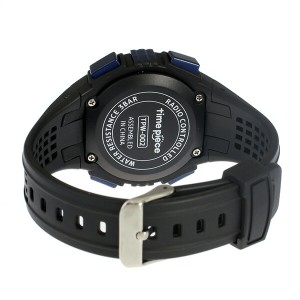 タイムピース TIME PIECE 電波ソーラー デジタル メンズ 腕時計 時計 TPW-002BL ブラック/ブルー【楽ギフ_包装】