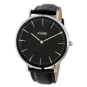 クルース CLUSE ラ・ボエーム レザーベルト 38mm レディース 腕時計 時計 CL18201 ブラック/ブラック