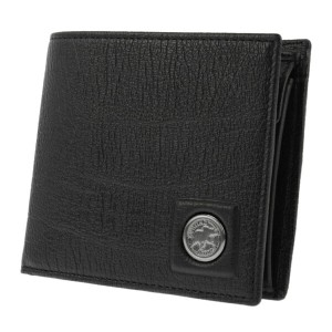 ハンティングワールド HUNTING WORLD 二つ折り 短財布 メンズ 5751233-BLK【送料無料】
