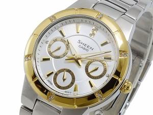 カシオ CASIO シーン SHEEN クオーツ レディース 腕時計 時計 SHE-3800SG-7A
